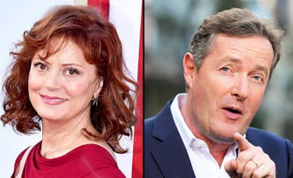 Susan Sarandon Defends Her Boobs Against Attack from Piers Morgan