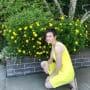 Rain Brown in Yellow