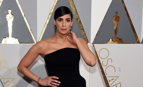 Sarah Silverman Oscars Photo