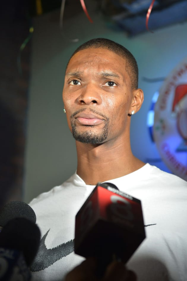 Chris Bosh Robbed On His Birthday The Hollywood Gossip