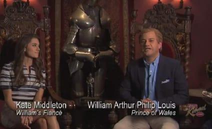 Allison Williams Spoofs Kate Middleton on Jimmy Kimmel Live