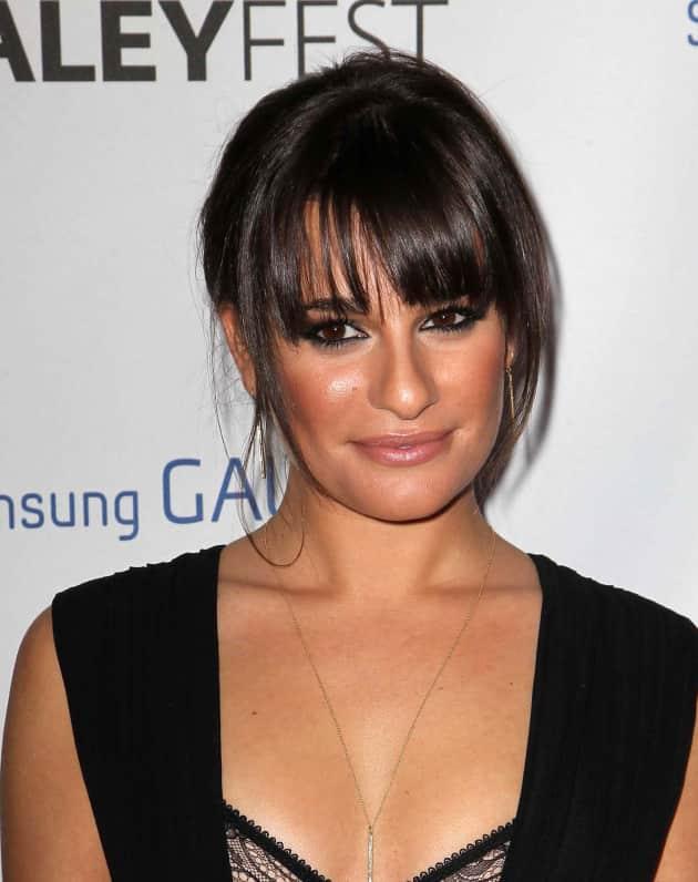 Lea Michele Close Up
