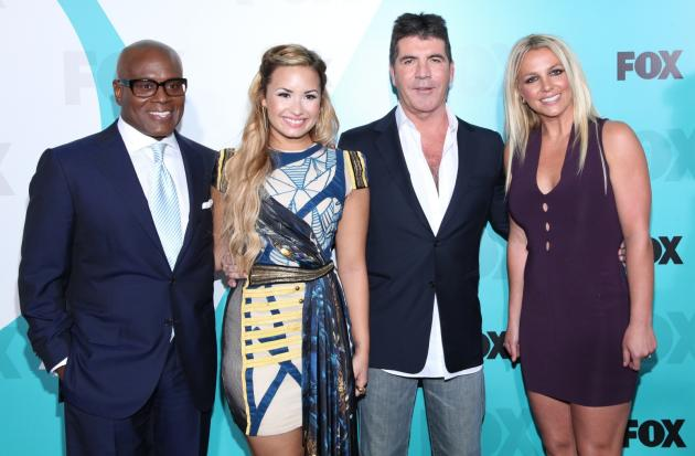 Simon, Britney, Demi and L.A.