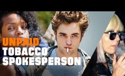 "Anti-Smoking PSA Slams Stars as the ""Face of Big Tobacco:"" Fair or Foul?"
