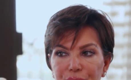 Kris Jenner, Champagne Face