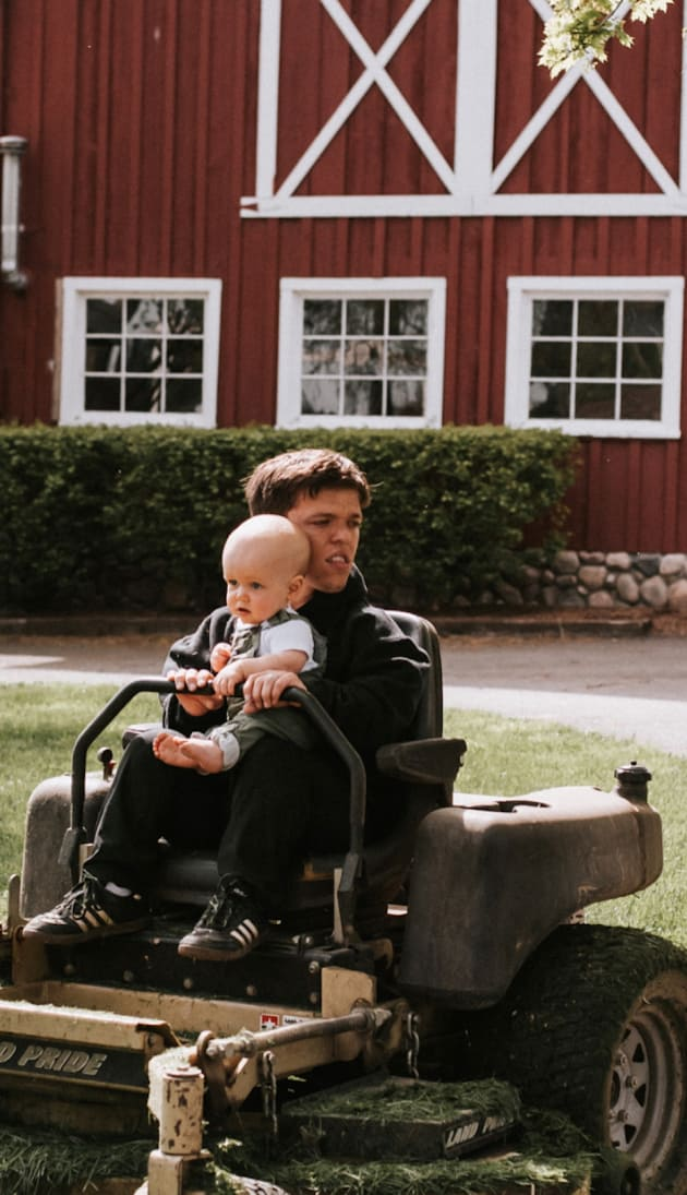 Zach Roloff on His Tractor