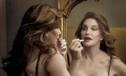Caitlyn Jenner Flaunts Cleavage, Promotes New Lipstick