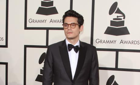 John Mayer at the 2015 Grammys