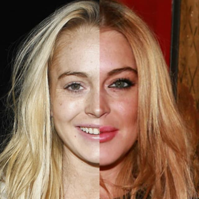 29 Celebrities With And Without Makeup Page 5 The