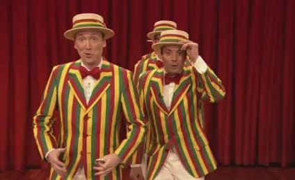 "Justin Timberlake Brings ""SexyBack"" ... Ragtime Style With Jimmy Fallon!"
