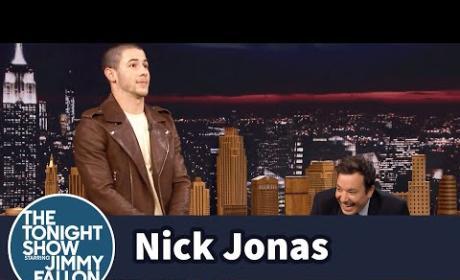 Nick Jonas Talks Boner