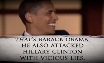 Hillary Clinton Slams Barack Obama in New Mitt Romney Campaign Ad