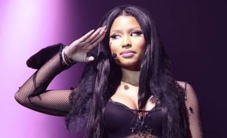 Salute from Nicki