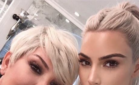 Kris Jenner and Kim Kardashian, Mother's Day 2018