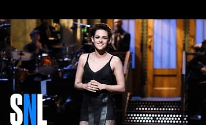 Kristen Stewart Makes Fun of Trump, Drops F Bomb on Saturday Night Live!