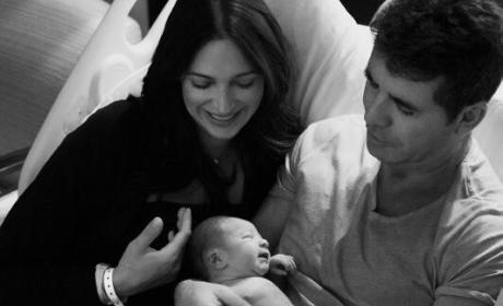 Simon Cowell Baby