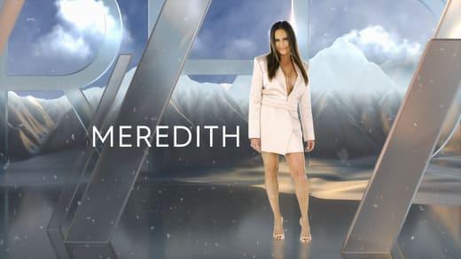 Tarjeta de título de Meredith Marks de la segunda temporada