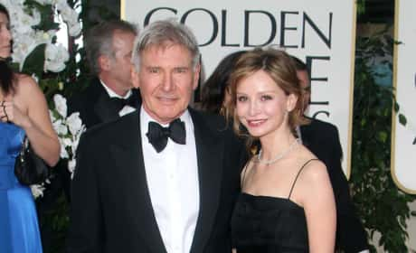 Harrison Ford and Calista Flockhart Photo