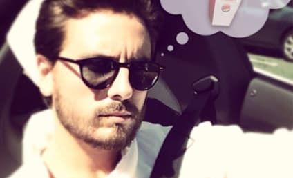 Scott Disick Orders $205 of Chicken Fries at Burger King, Must Be Stoned Out of His Mind