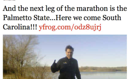 Rick Perry: Punting New Hampshire, Posing With Puppy, Possibly Wearing Spandex