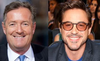 Piers Morgan Slams Robert Downey Jr.: What a Prima Donna!
