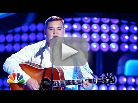 "Jake Worthington: ""Don't Close Your Eyes"" (The Voice Audition)"