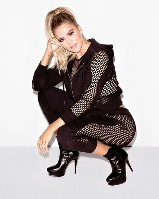 Khloe Kardashian, Fishnet Sets