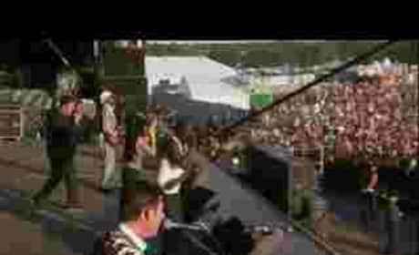 Amy Winehouse at V Festival