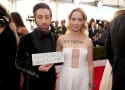 Simon Helberg and Jocelyn Towne Support Refugees at 2017 SAG Awards