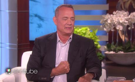 Tom Hanks Makes a Face