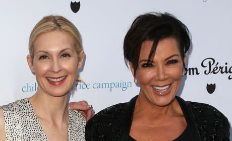 Kelly Rutherford and Kris Jenner