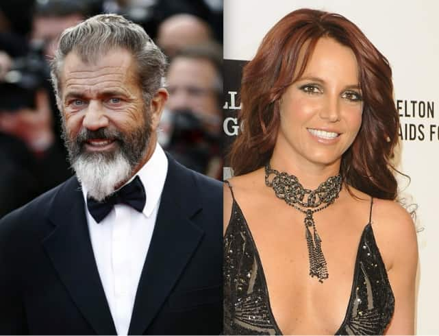 Mel Gibson and Britney Spears