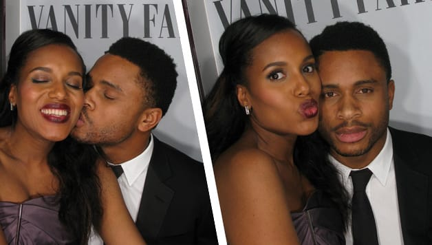 Kerry Washington, Nnamdi Asomugha