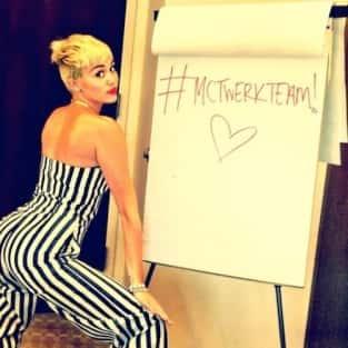 Miley Cyrus Twerk Photo