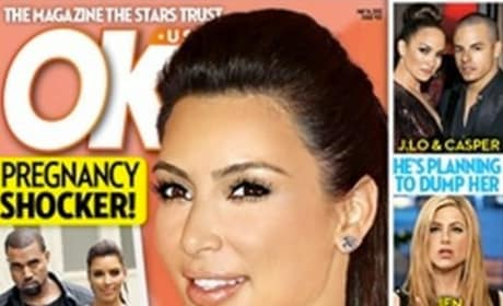 Kim Kardashian OK! Cover
