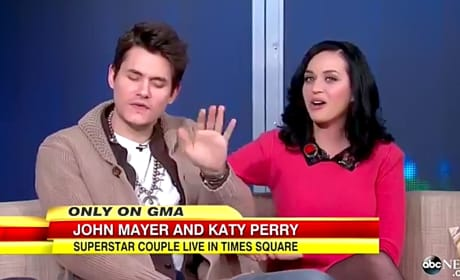 Katy Perry and John Mayer on GMA