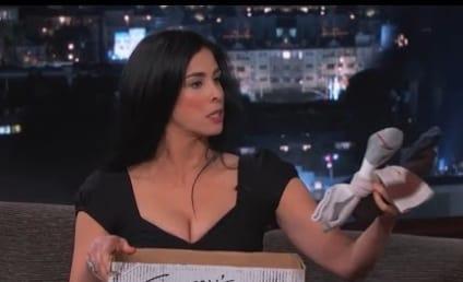 Sarah Silverman Appears on Jimmy Kimmel Live, Returns Ex-Boyfriend's Stuff