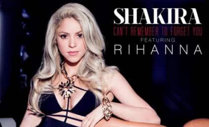 Rihanna and Shakira Single Art: Released, Hot!