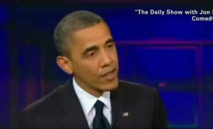 "Barack Obama Visits Daily Show, Jon Stewart Calls President ""Timid"""
