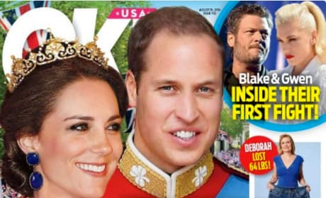 William Kate King Queen OK Cover