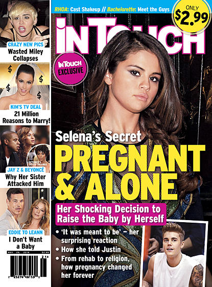 Selena Gomez Pregnant Story
