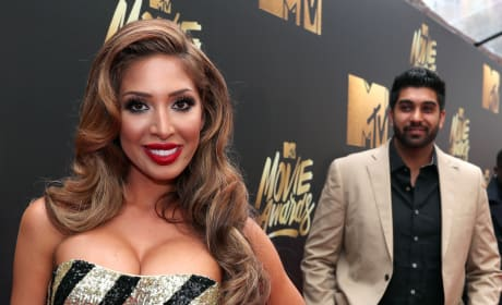 Farrah Abraham, Simon Saran MTV Movie Awards Photo