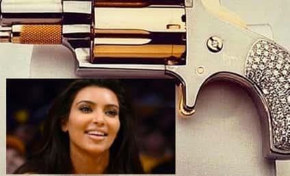 Kim Kardashian Gun Photo Sparks Controversy, Regret