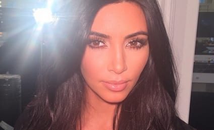 Kim Kardashian Reveals Selfie Book Cover: So... Much... Cleavage!