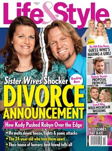 Robyn and Kody Divorce Story