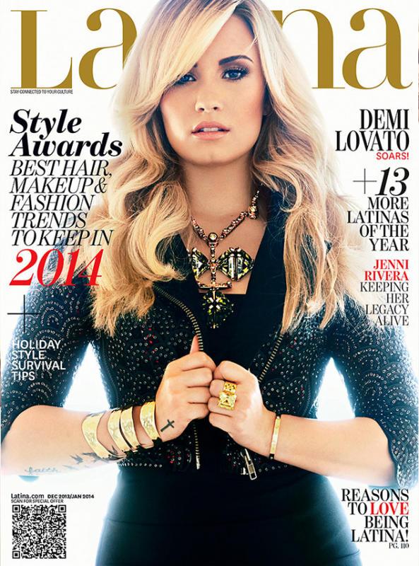 Demi Lovato Latina Cover