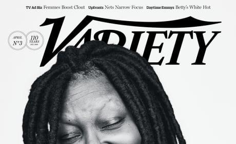 Whoopi Goldberg Variety Cover