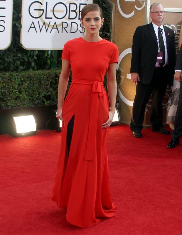 Emma Watson at 2014 Golden Globes