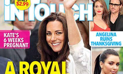 Kate Middleton Pregnant, Tabloid Swears!