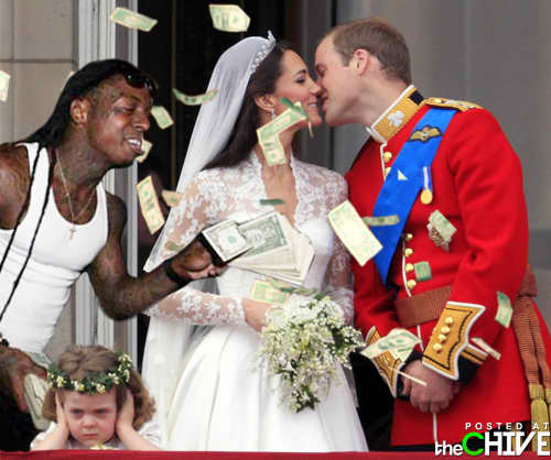 Lil Wayne at the Royal Wedding